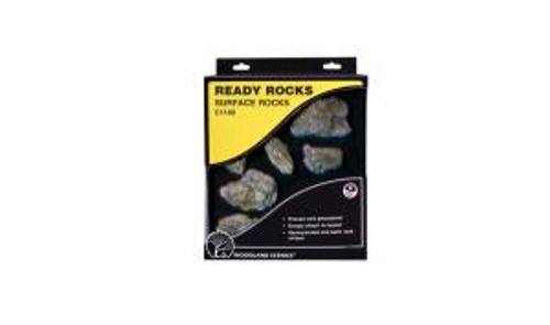 Woodland Scenics 1140 Surface Ready Rocks