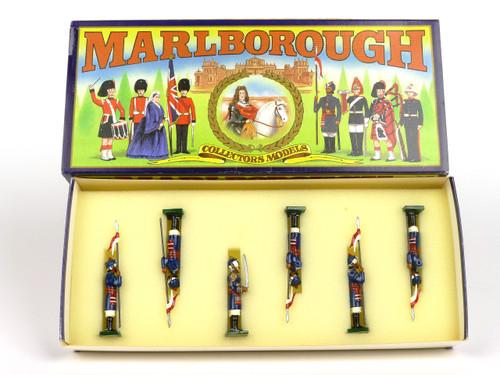 Marlborough Toy Soldiers Set MF17 Bengal Lancers 1900