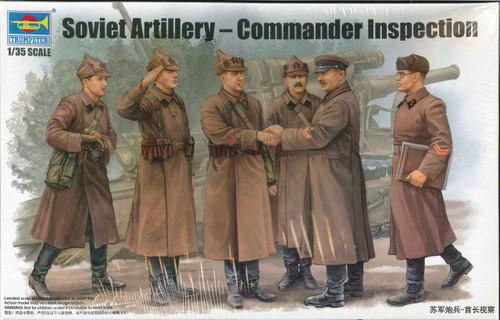 Soviet Artillery Commander Inspection Military Figures No. 00428