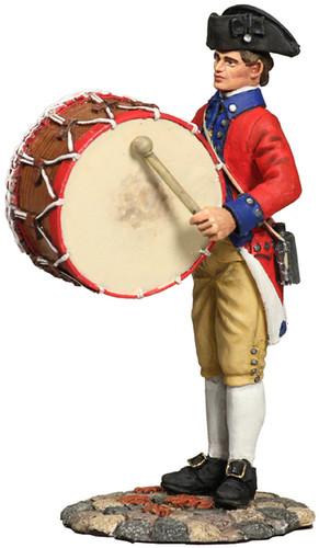 W Britain Toy Soldiers 18034 American Revolution Virginia States Garrison Bass Drummer