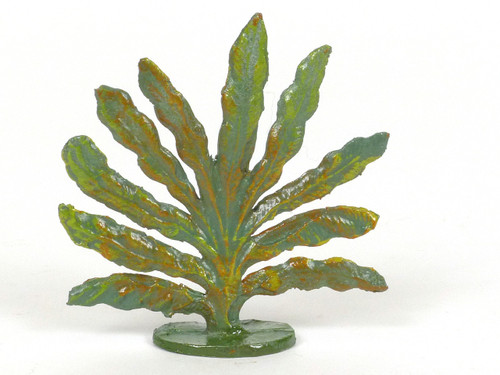 Hornung Art Small Bush 46M Flat Hand Painted Metal Cast