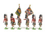 Ducal Military Figures Set 183 Cameron Highlanders Colour Party (Queen's Own)