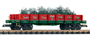 Piko America 38762 Christmas Tree Express Low-Side Gondola G Scale