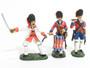John Jenkins Designs Toy Soldiers The Indian Wars Regiment de la Reine Officer, Fifer and Drummer IFGW-3