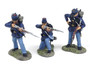 Conte Collectibles 57100 Yanks & Rebs ACW Union Infantry Firing Line Set 1