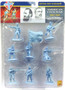 Conte Collectibles ACW200 American Civil War Confederate Infantry Soldiers Set 1 Blue