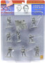 Conte Collectibles ACW101 American Civil War Union Plastic Soldiers In Gray 54mm Set 1