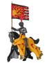 W Britain Knights 41092 French Standard Bearer Mounted Guillaume de Martel