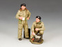King & Country Soldiers British Dismounted AFV Crew Set #2