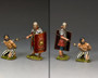 King & Country Soldiers RnB004 The Romans Barbarians Guarding The Prisoner