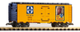 Piko Santa Fe The Chief Steel Reefer G Scale