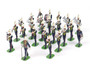 Ducal Models E3027-2 Royal Marines Marching Band 24 Piece Set