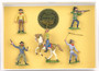 Hornung Art By Bob Hornung Cowboy Collectible 5 Piece Box Set