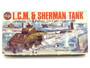 Airfix Model Kit 03301-9 Series 3 L.C.M. & Sherman Tank OO Model Kit