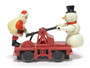 Lionel Trains 6-18426 Santa And Snowman Operating Hand Car