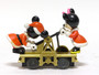 Lionel Trains 6-18433 Disney Mickey And Minnie Hand Car O Gauge