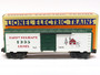 Lionel Trains 6-19938 Happy Holidays 1995 Lionel Christmas Box Car