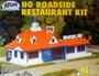 Atlas Trains HO Scale Roadside Restaurant Model Train Building Kit 760