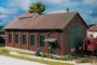 Piko Trains 61823 HO Scale Hobby Line Burgstein Loco Shed Building Kit