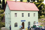 Piko Trains 61836 HO Scale Hobby Line Police Station Building Kit