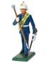 W Britain 43029 Royal Marine Drum Major Toy Soldier