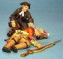 John Jenkins Designs JJCLUB SET#6 Chaplain Philip Hughes with Wounded Grenadier Limited edition 1/30 Collectible