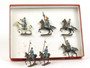 CBG Mignot Toy Soldiers Set CAV6 French Dragoons 1916