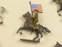 CBG Mignot Toy Soldiers CAV 3 Americans in Montana Hats Attacking