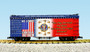 USA Trains R16027 Refrigerator Car We Stand for the National Anthem