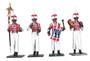 WBritain 43105 Bandsmen Coldstream Regiment Napoleonic