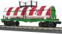 MTH 30-73536 Christmas Smoking Tank Car O Gauge RailKing