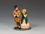 King & Country Toy Soldiers WOD050 Mr & Mrs. Micawber World of Dickens