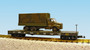USA Trains R1781 US Army Flat Cat With Truck #G5058 G Gauge