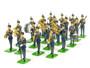 WBritain 41151 RAF Royal Air Force 21 Piece Band Set Limited Edition