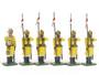 Marlborough Collectors Models MF30 Skinner's Horse Lancers  Dismounted 1900 54mm