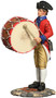 W Britain Toy Soldiers 18034 American Revolution Virginia States Garrison Bass Drummer