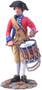W Britain Toy Soldiers 18031 American Revolution Virginia States Garrison Drummer