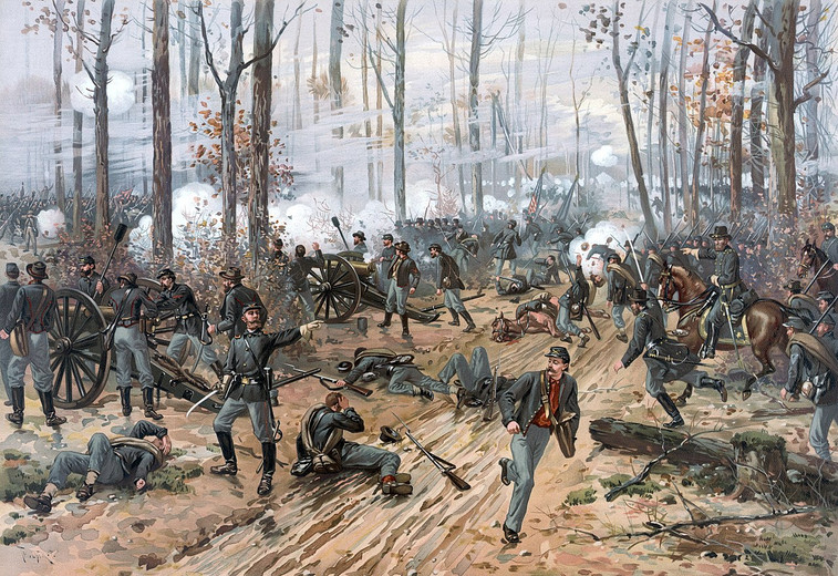 Trains and Toy Soldiers invites to learn more about Shiloh, the civil war battle.