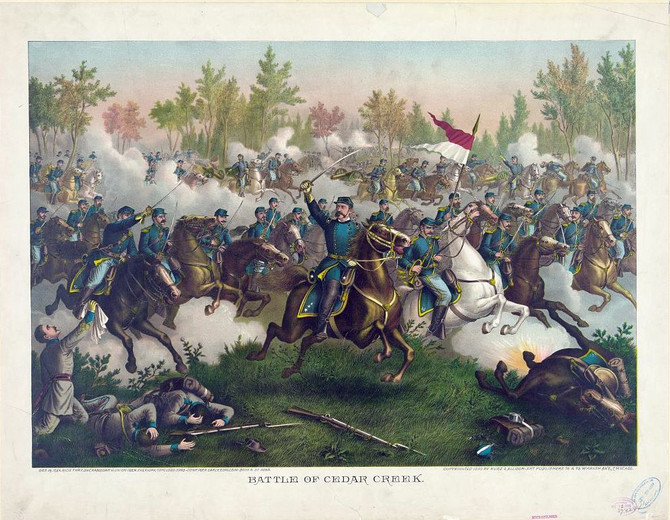 Trains and Toy Soldiers invites to learn more about Cedar Creek, the American Civil War Battle