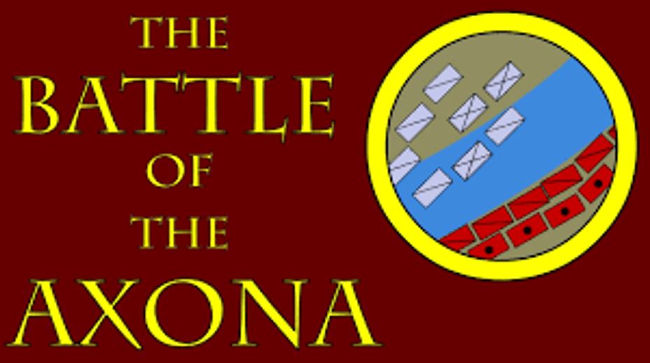 Trains and Toy Soldiers invites to learn more about The Battle of the Axona (57 B.C.E.)
