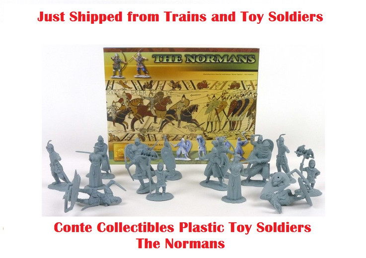Just shipped awesome Conte Collectible Toy Soldiers from Trains and Toy Soldiers