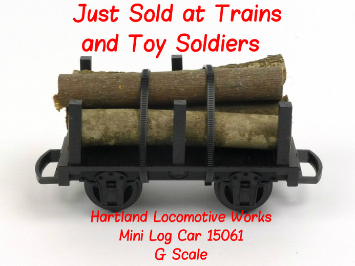 Trains and Toy Soldiers Just Sold Another Great G Scale Model Train