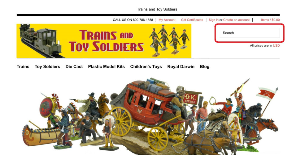 Let us help you find the Toy Soldier you are looking for