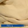 Fat quarter yard of Organic 80/20 Bamboo and Cotton Fleece