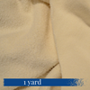 1 yard of Organic 80/20 Bamboo and Cotton Fleece from Creatrix Solutions