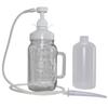 Enema Fix™ Complete Enema Kit Bottle, Glass Jar and Pump