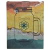 Non-Toxic Mason Jar 32 oz Mug with Lid - Front of the Box