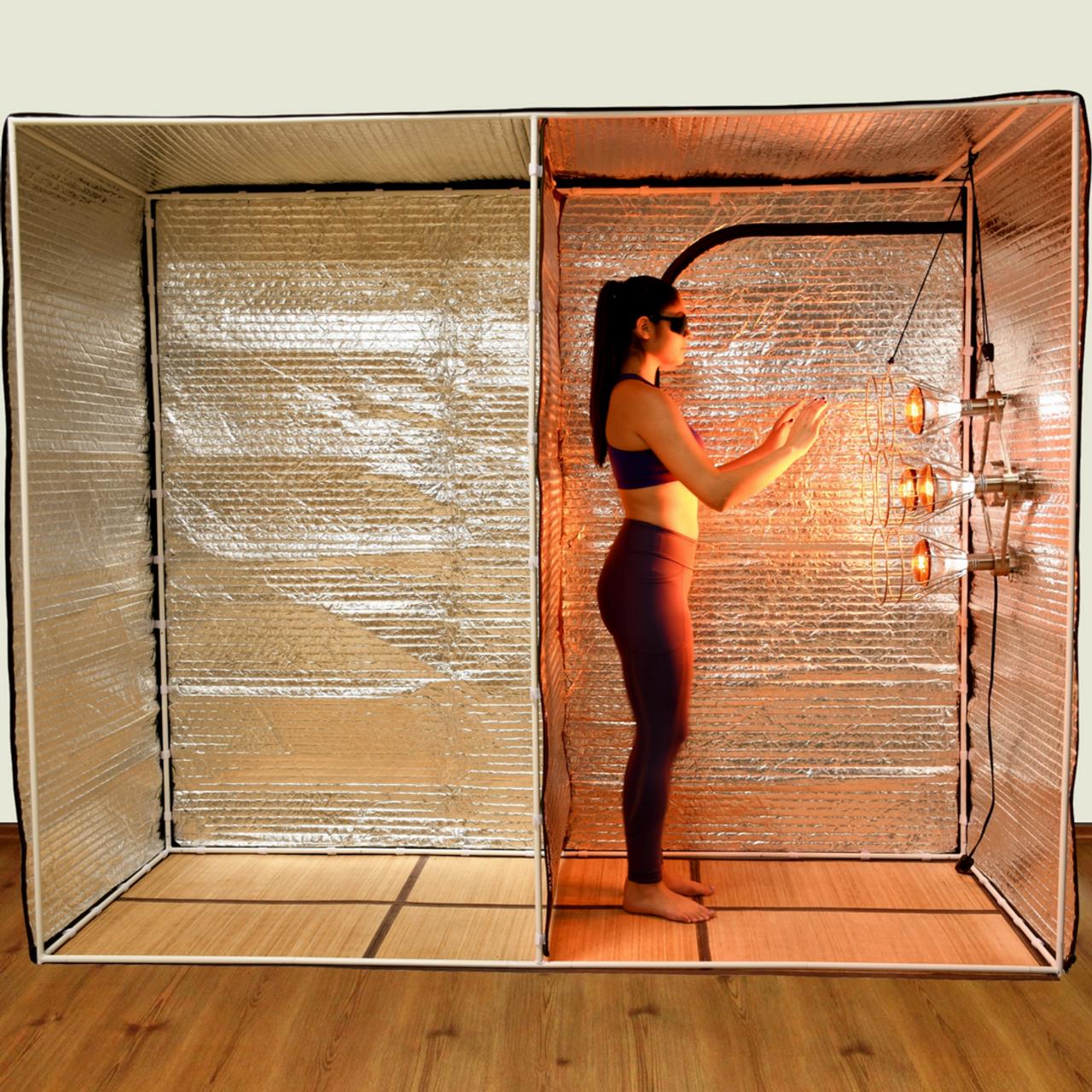 Sauna Fix near infrared Home Hot Yoga Bundle