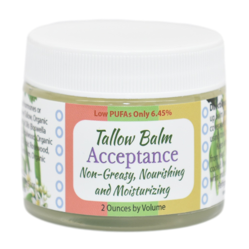 Tallow Balm Acceptance Scent from Creatrix Solutions
