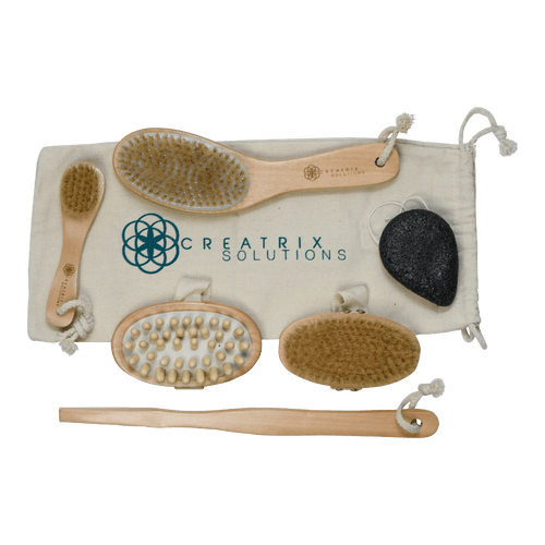 Body Detox Brush and Beauty Set